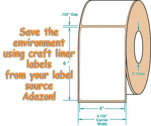 craft liner labels