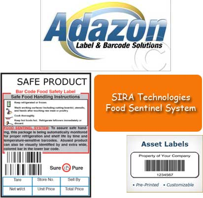 Sira technologies food sentinel system for Food barcode