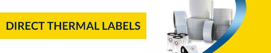 Direct Thermal Labels Manufacturer | Adazon